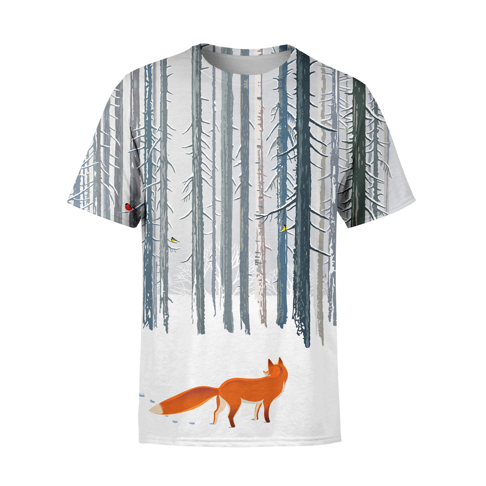 Mens or Womens Cute Better Together Fox Love 100/% COTTON S-5XL SIZE T-shirt Tee